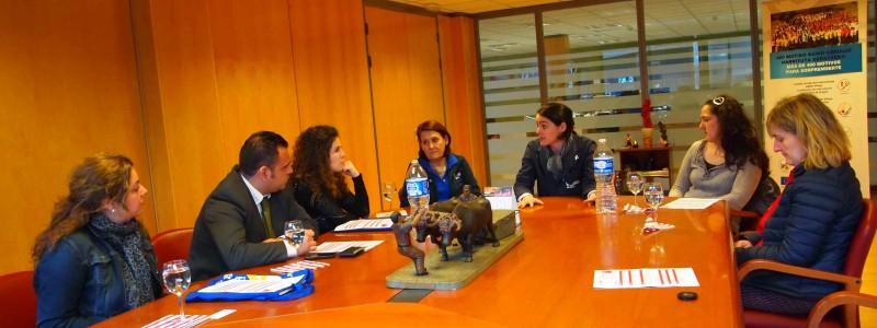Instituto de la Mujer visita a USOA