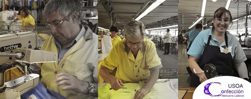 Confección de ropa laboral