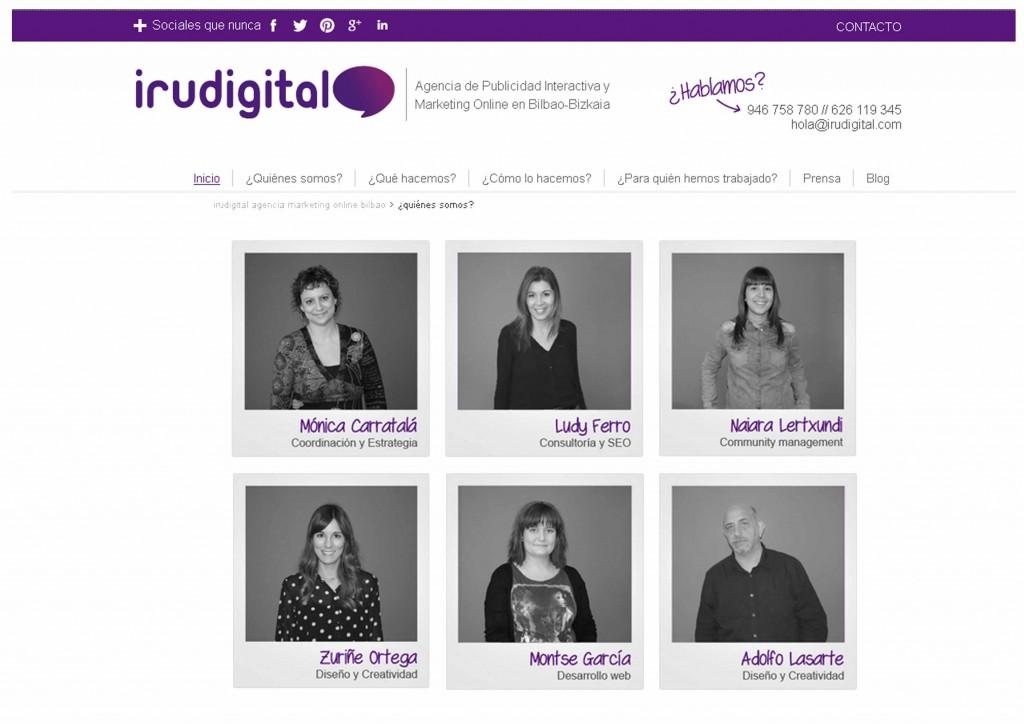 Equipo Irudigital