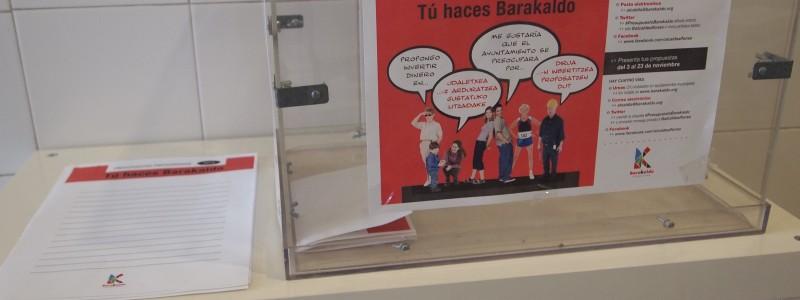 Presupuestos participativos: ¿Qué crees que necesita Barakaldo?