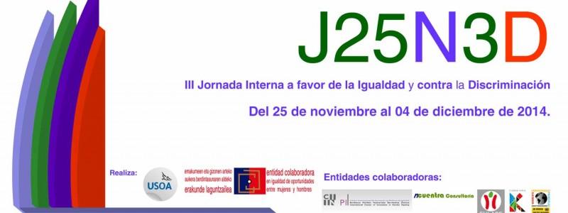 Igualdad, USOA y Discapacidad: J25N3D