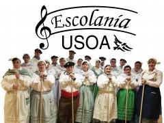Coro Escolanía USOA en Agate Deuna